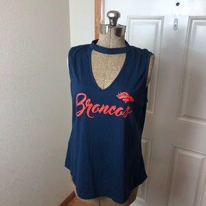 NWT Denver Broncos Women's Tank Top